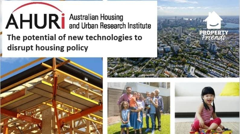 The potential of new technologies to disrupt housing policy