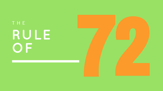 """THE RULE OF """"72"""""""